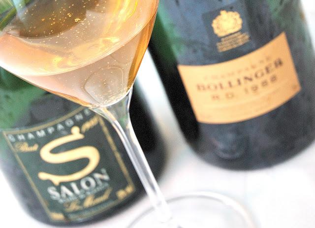 La cena del sommelier gennarino carunchio centobicchieri for 1985 salon champagne